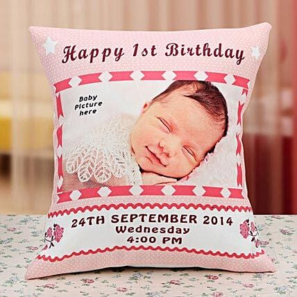 Gift for the Angel Personalized Cushion: Gifts for Kids