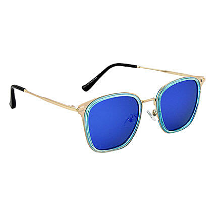 Mirrored Rectangle Unisex Sunglasses: Sunglasses Gifts