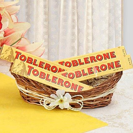 Munch With Toblerone: Send Gift Hampers