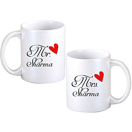 Personalized Couple Mugs: Send Personalised Gifts to Barasat