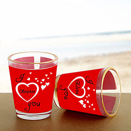 Personalized Couple Shot Glass: Unique Gifts