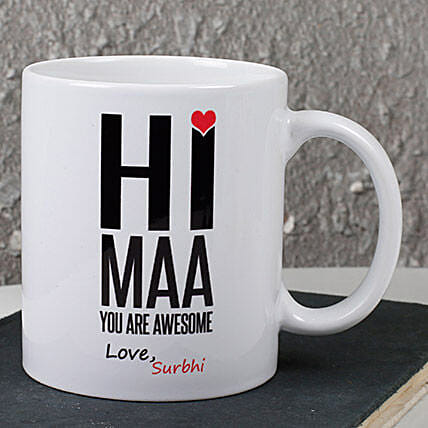 Personalized Maa Mug: Gifts for Mother in Law