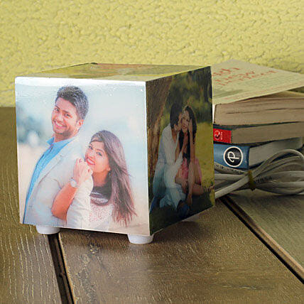 Personalized Memories Lamp: Send Gifts to Bolpur