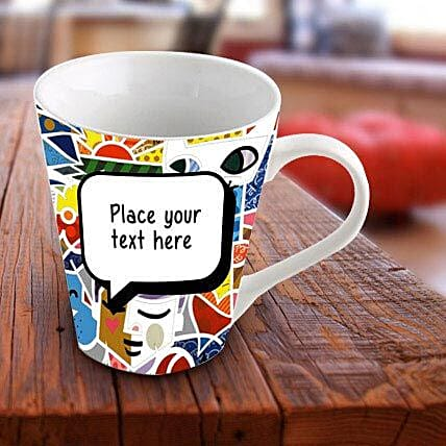 Personalized Vibrant Mug: Send Gifts to Uttar Dinajpur