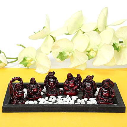 Platter Full Buddhas: Buddha Collection