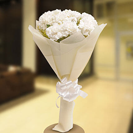 Stary White: Flowers for Condolence