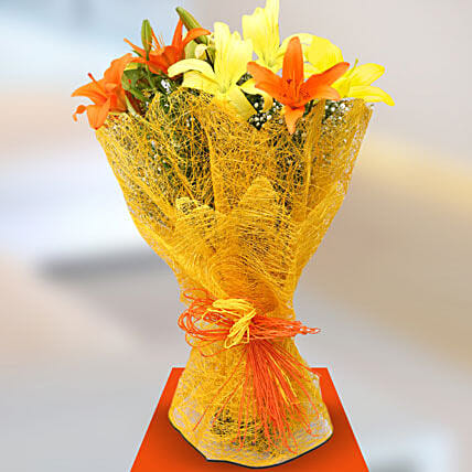 Sunshine Lillies: Send Lilies to Lucknow