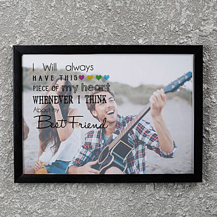 Best Friend PersonalizedFrame: Gifts for Friends