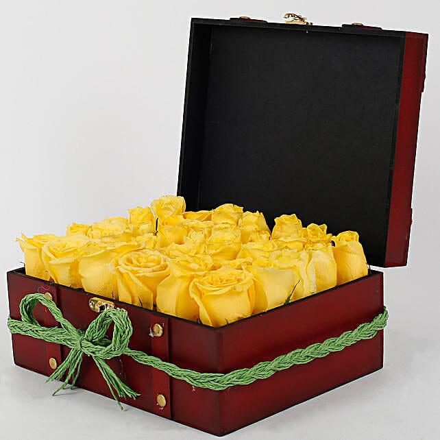 Sunshine Floral Arrangement: Premium Gifts for Anniversary