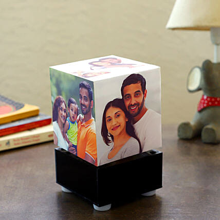 Personalized Rotating Lamp Mini: