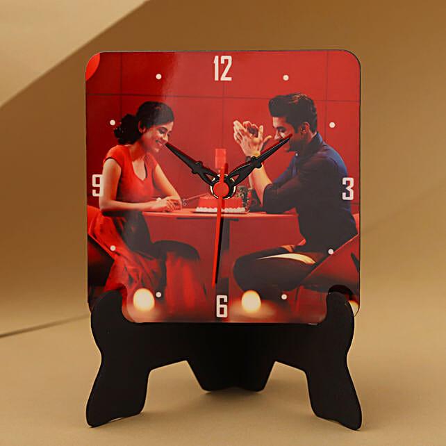 Unique Personalized Table Clock: Send Gifts for Boyfriend