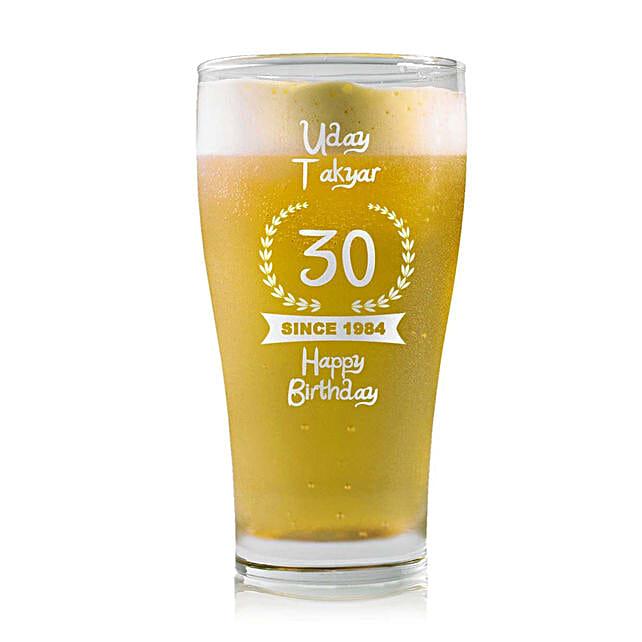 Personalised Beer Glass 1457: