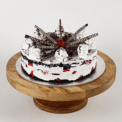 Choco Cigar Black Forest Cake: Send Black Forest Cakes