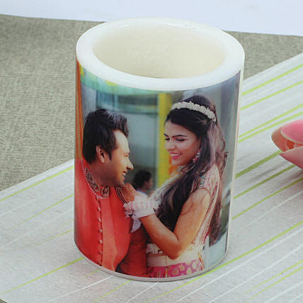 Me and You Personalized Candle: Send Candles