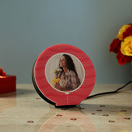 Personalised Beautiful LED Lamp: Send Gifts for Girlfriend