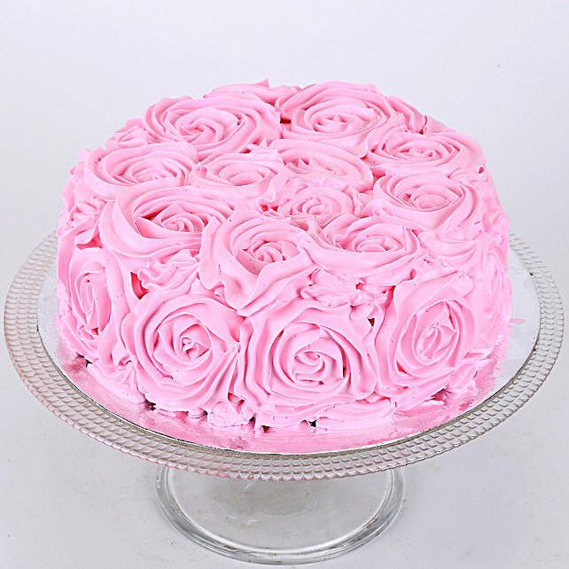 Floral Chocolate Cake: Designer Cakes
