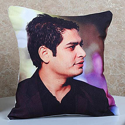 Personalised Cushion for him/her: Bhai Dooj Personalised Gifts