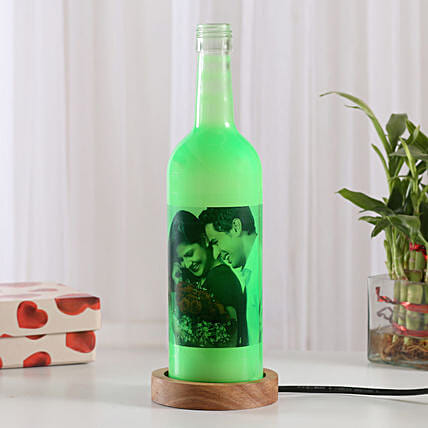Shining Memory Personalized Lamp: Send Gifts to Bolpur