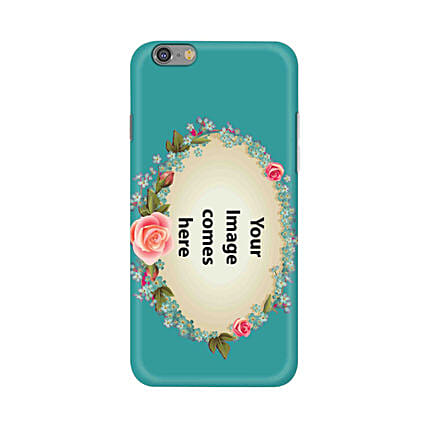 Apple iPhone 6 & 6S Customised Floral Mobile Case: Personalised Mobile Covers