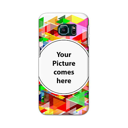 Samsung Galaxy S6 Edge Customised Vibrant Mobile Case: Personalised Mobile Covers