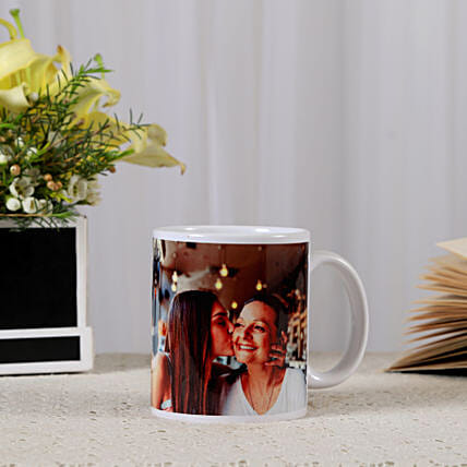 Personalized Ceramic Mug: Birthday Gifts for Her