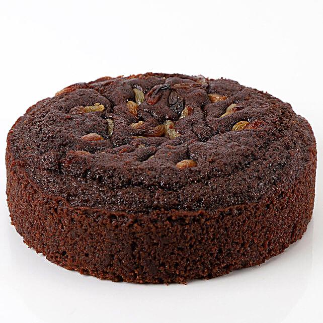 Healthy Sugar-Free Chocolate Dry Cake- 500 gms: Send Plum Cakes