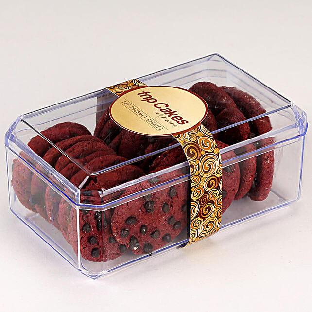 Red Velvet Cookie Box: Cookies
