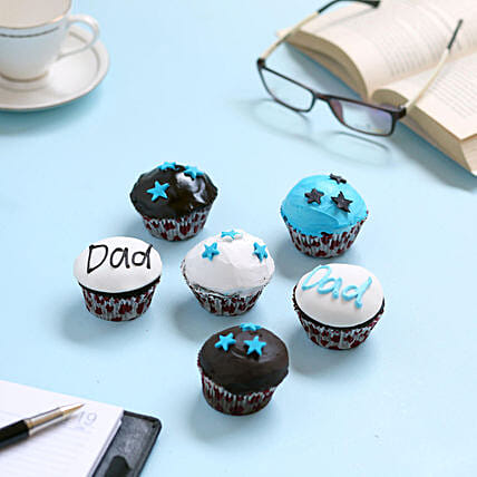 Twinkling Stars Cupcakes for Dad: Gifts Under 1500