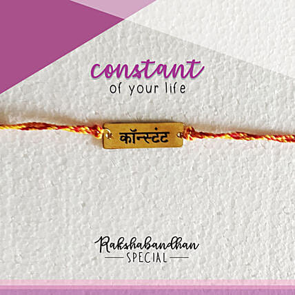 You Are My Constant Rakhi & Card: Send Rakhi to Raipur