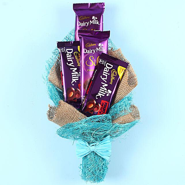 Special Cadbury Bouquet: Send Chocolate Bouquet