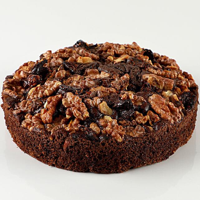 Dry Cake With Dates & Walnuts: Send Cake