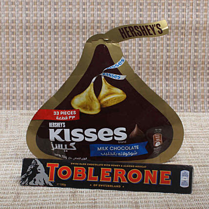 Toblerone & Kisses Chocolate: Propose Day Gifts