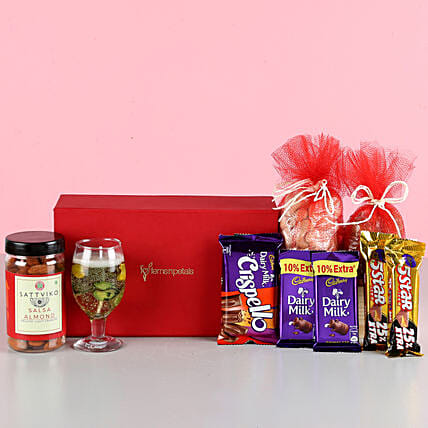 Nutty Chocolaty Treats With Candles: Gift Combos