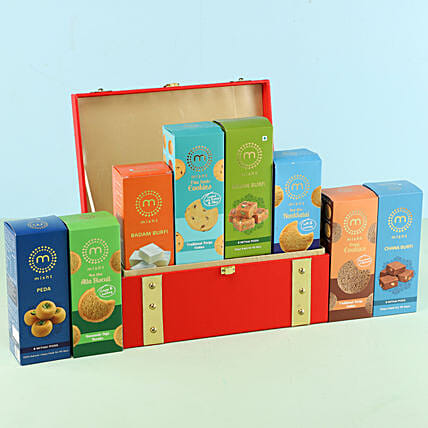 Mithai Cookies Misht Gift Box: Send Gift Hampers