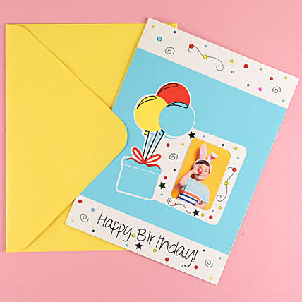 Big Colorful Balloons Birthday Greeting Card: Buy Greeting Cards