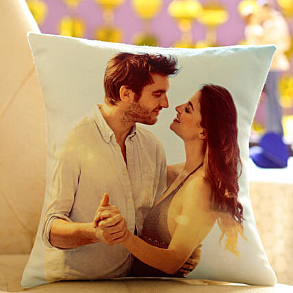 Personalized Cushion Gift: Gifts for Bhabhi