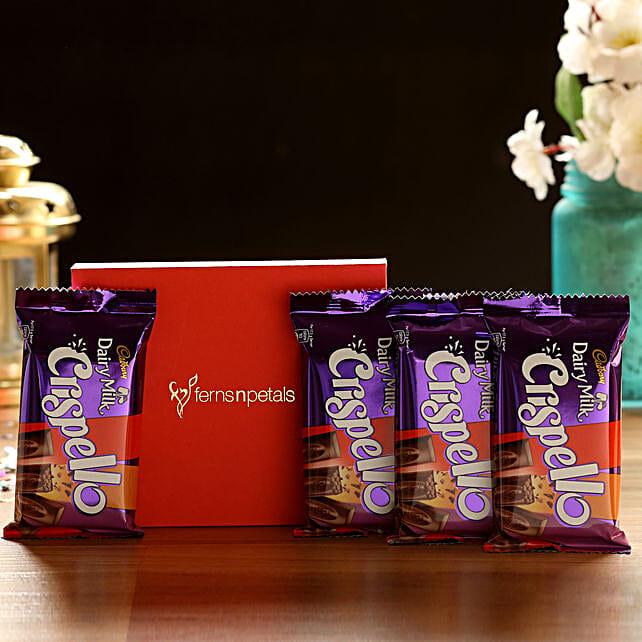 Crispello Chocolate Bars Box: Cadbury Chocolates