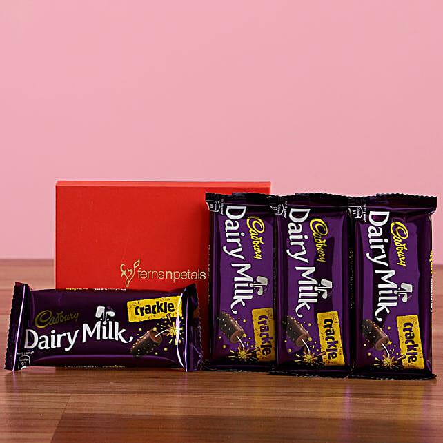 Dairy Milk Crackle Box: