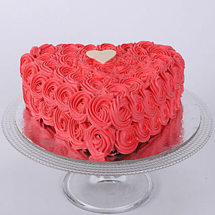 Valentine Heart Shaped Cake: Heart Shaped Cakes Dehradun