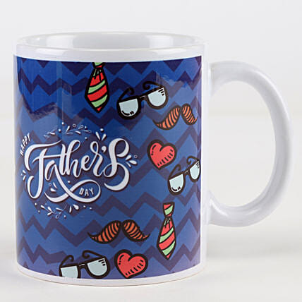 Vibrant Father's Day Mug: Gifts For Fathers Day From Son