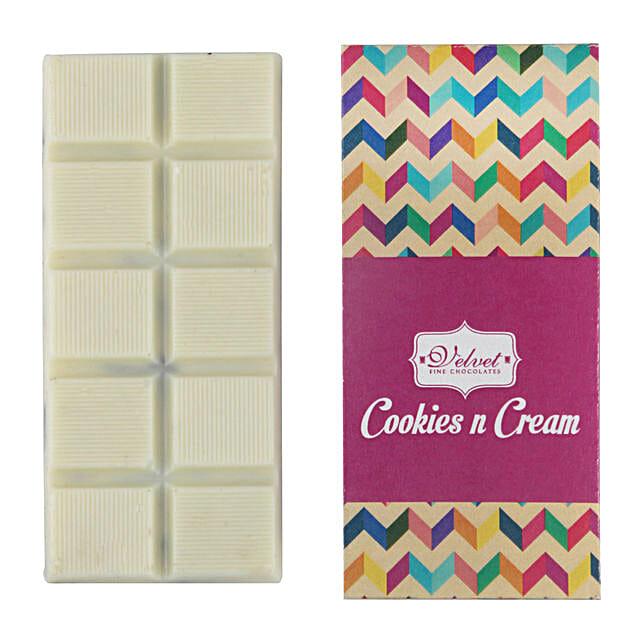 White Chocolate Bar Oreo Special: Send Holi Chocolates