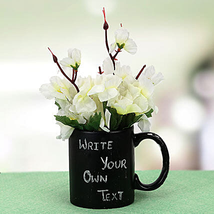 Your Words Mug and Plant: Personalised Friendship Day Gifts