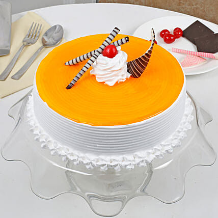 Yummy Mango Cream Cake: Send Mango Cakes