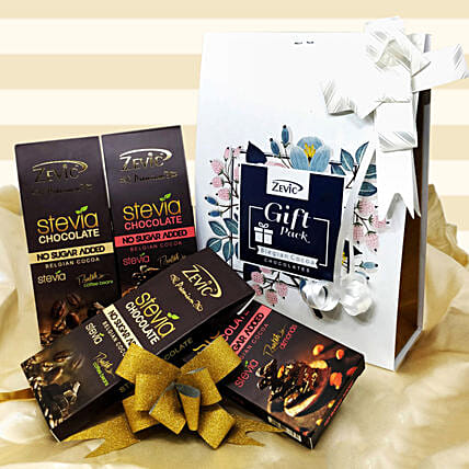 Zevic Dark Chocolate Gift Pack: Chocolates Shopping India