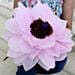 Giant Paper Flower-A pink coloured handmade paper flower