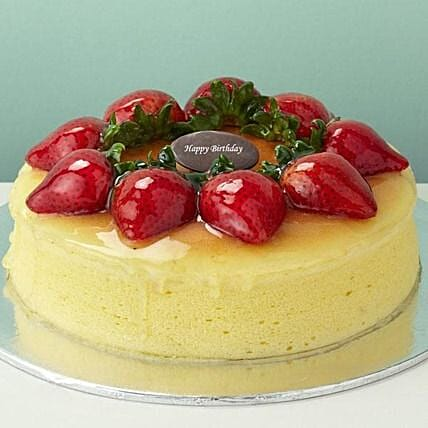 Strawberry Cheesecake: Father's Day Presents in Sinapore