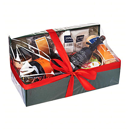 Decadent Cheese Hamper: Gift Baskets to Singapore