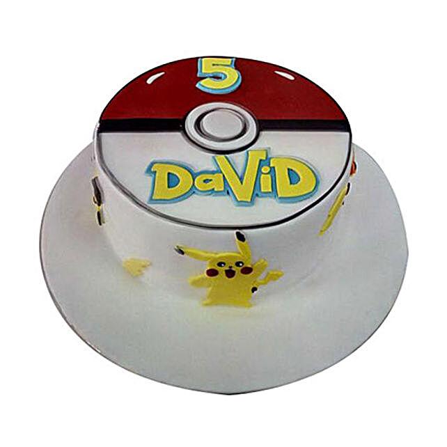 Classic Pokemon Cake: Cartoon Cakes to UAE