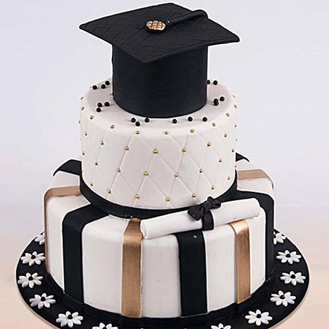 Graduation Hat Cake 6 Kg: