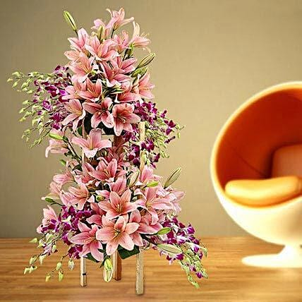 Grand Celebratory Bouquet: Send Orchids Flowers in UAE